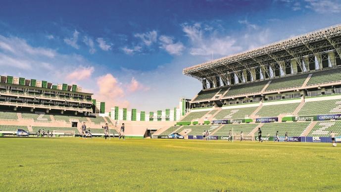 La Federación Mexicana de Fútbol aún no certifica al estadio del Zacatepec en Morelos