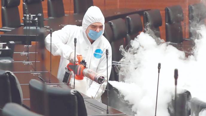 La OMS declara que ya inicia el contagio local de coronavirus en México