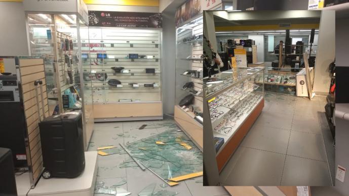 Detienen a 19 personas por saqueos a tiendas departamentales en municipios del Edomex