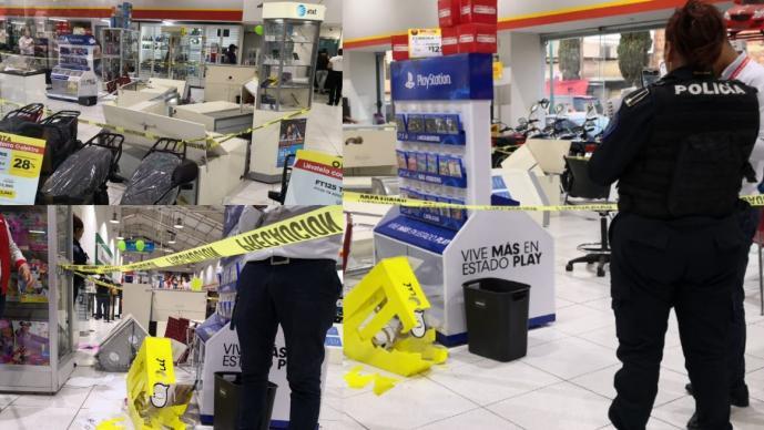 Cinco tiendas del Edomex y CDMX fueron saqueadas en una sola noche, hay 24 detenidos