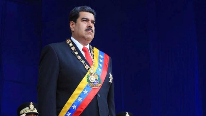 Gobierno de EU acusa a Nicolás Maduro de narcotráfico y ofrece recompensa por su captura
