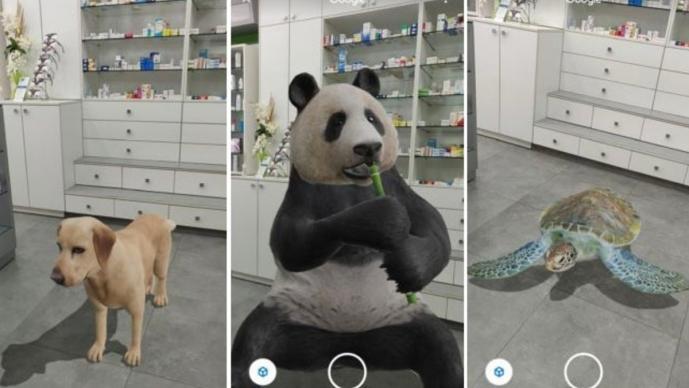 Conoce los pasos para encontrar animales 3D en el navegador de Google