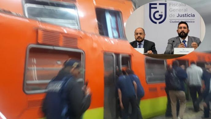 FGJ: Fatal accidente en metro Tacubaya que dejó un muerto, fue por un error humano