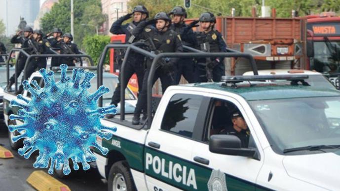 Con este audio, policías recorren la CDMX para pedir a la gente que se resguarde en casa