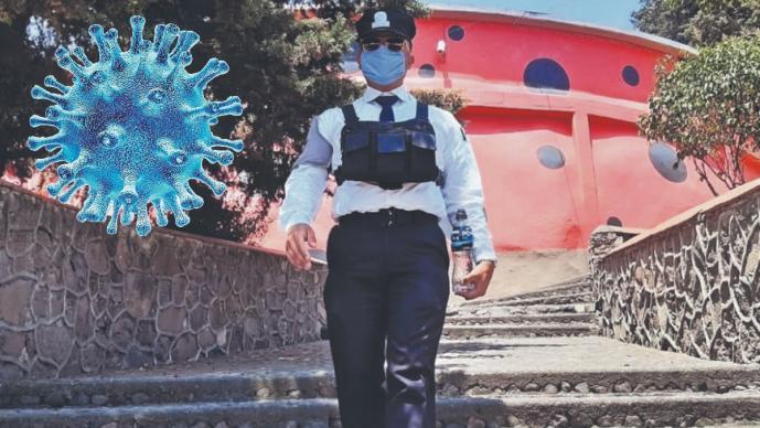 Con miedo pero al pie del cañón: Cadete del Edomex pide no tomar a la ligera la pandemia