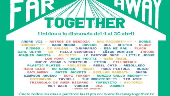 Far Away Together, el festival virtual que apoyará a los artistas independientes en México