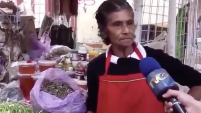 Mujer comerciante se vuelve viral tras explotar por cuarentena de Covid-19 en México