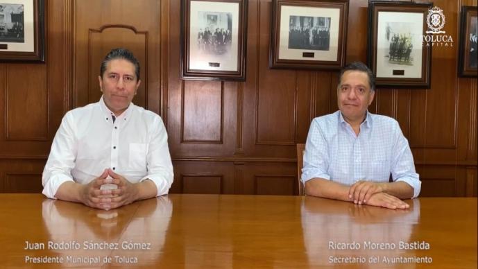 Ante la crisis económico por el Covid-19, funcionarios del Edomex donarán todo su salario