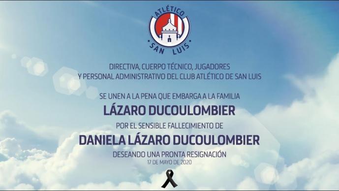 Falleció Daniela Lázaro, jugadora del Atlético San Luis Femenil