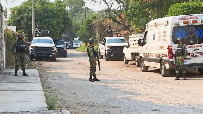 Masacre en Morelos deja cinco muertos, uno de ellos exfuncionario de Enrique Peña Nieto