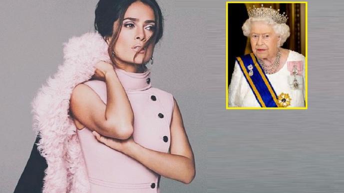 Salma Hayek entre las más adineradas de Inglaterra; está por arriba de la reina Isabel II