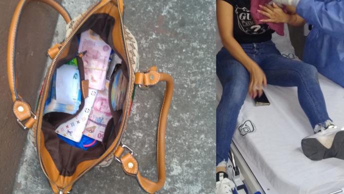Asaltan a joven colombiana y le sueltan balazo; querían quitarle 50 mil pesos en CDMX