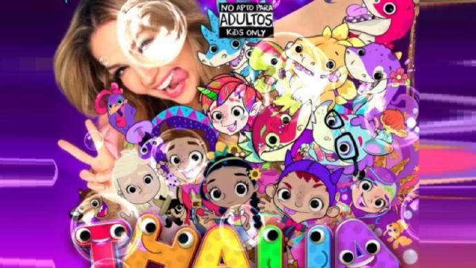 Thalía anuncia disco para niños y se conmocionan las redes sociales