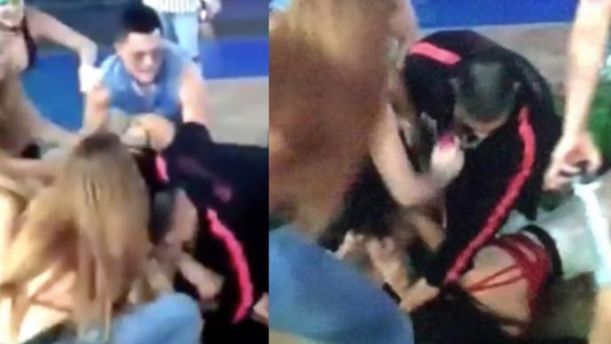 Jawy causa indignación por golpear a Dania y oprimirle cuello, en 'Acashore'