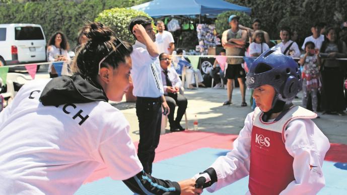 Instituto Superior de Taekwondo de Morelos mantendrá clases gratuitas después de la pandemia
