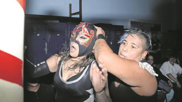 La luchadora Tsunami no se desespera y confía en volver pronto al ring