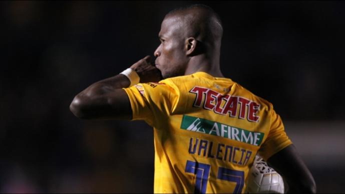Enner Valencia se despide de los Tigres