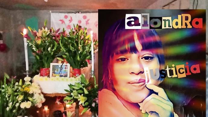 Alondra murió irreconocible en el hospital, tras ser hallada golpeada en Edomex