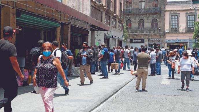Ambulantes de la CDMX iniciaron vendimia sin autorización, pese a semáforo naranja