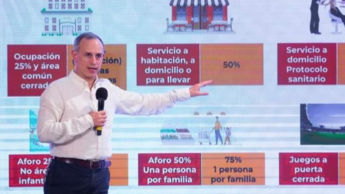 Hugo López-Gatell advierte que pandemia por Covid-19 puede durar de 2 a 3 años