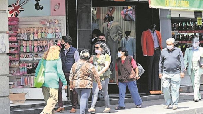 Pese a semáforo naranja, reabren negocios no esenciales en la capital del Edomex