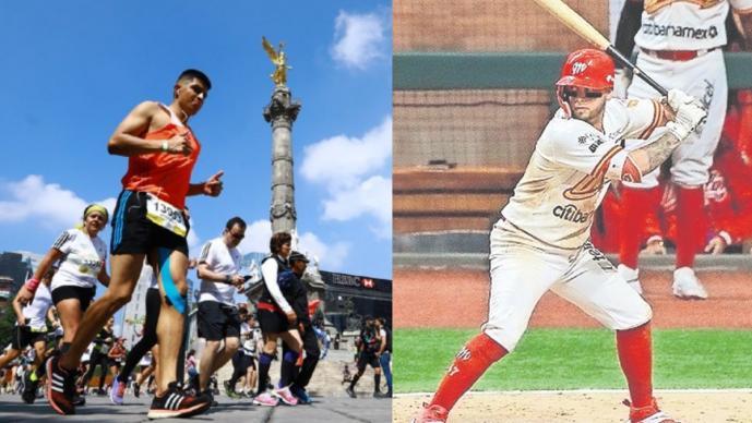 ¡Cancelados! Coronavirus doblega a la Liga Mexicana de Beisbol y el Maratón de la CDMX
