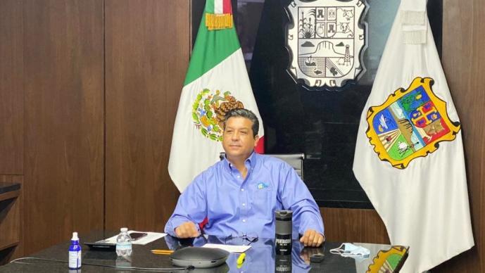 Gobernador de Tamaulipas informa que dio positivo a la prueba de Covid-19