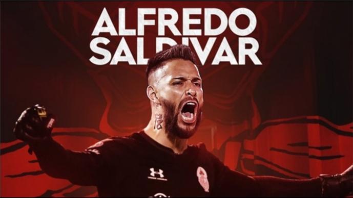Toluca oficializa el fichaje de Alfredo Saldívar para el Apertura 2020