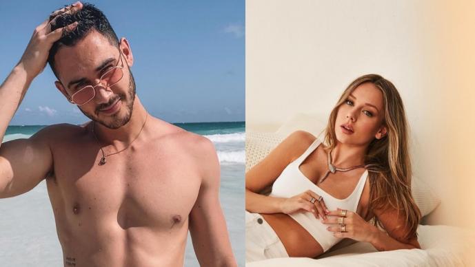 Ester Expósito estrena look y sale de antro en Roma junto a su novio Alejandro Speitzer