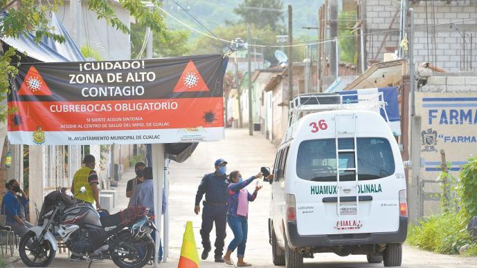 Cualác, la comunidad de Guerrero libre de Covid-19