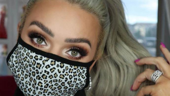 Secretos para combinar maquillaje y cubrebocas