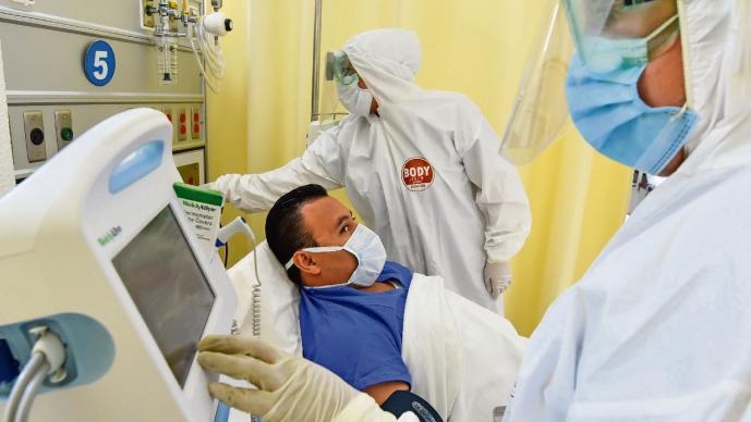 Hospitales del Valle de Toluca están a punto del colapso, por culpa del coronavirus