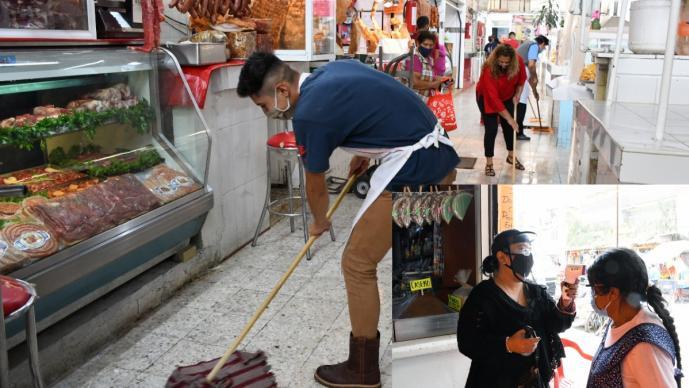 Comerciantes de mercados en Edomex piden que población los visite, aseguran higiene