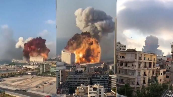 Explosiones en Beirut, la mayor ciudad de Líbano cimbran al mundo ...