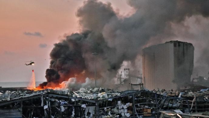 Toneladas de nitrato de amonio causaron explosión en Beirut; resumen del terror que aún permanece