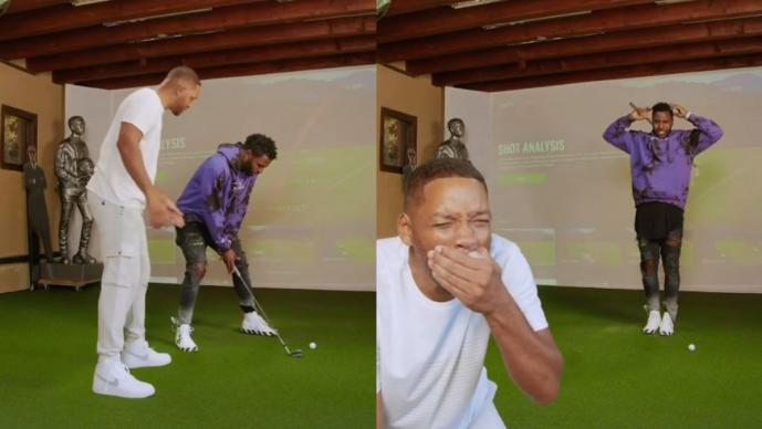 Will Smith recibe un palazo en la boca y publica el perturbador video