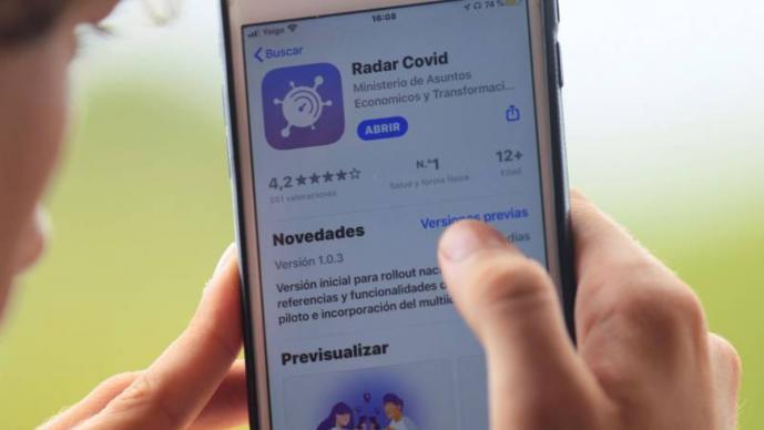 Así funciona 'Radar Covid', la aplicación para rastrear el coronavirus