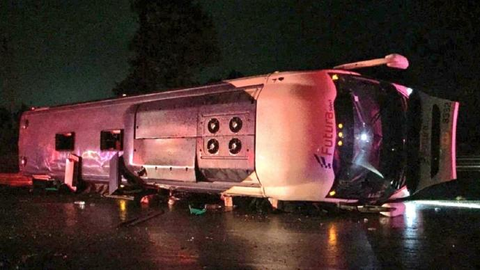 Lista de lesionados por accidente en la carretera México-Toluca sube a 15, hay niños fallecidos