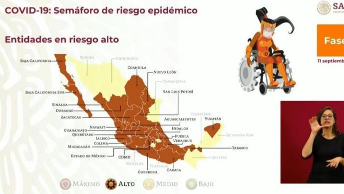 Hidalgo continuará 2 semanas más en semáforo naranja