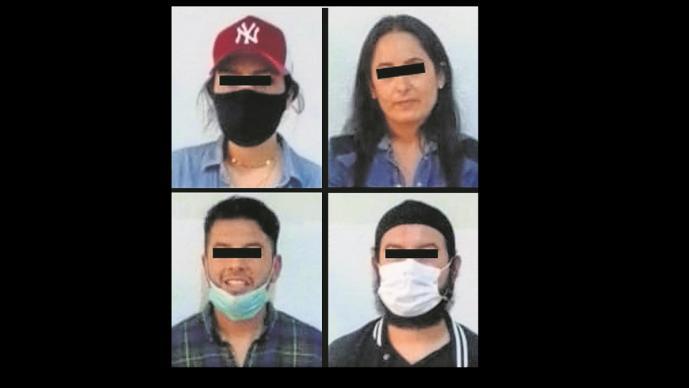 Cuatro sujetos intentaron vender un vehículo robado en el Edomex, ya fueron capturados