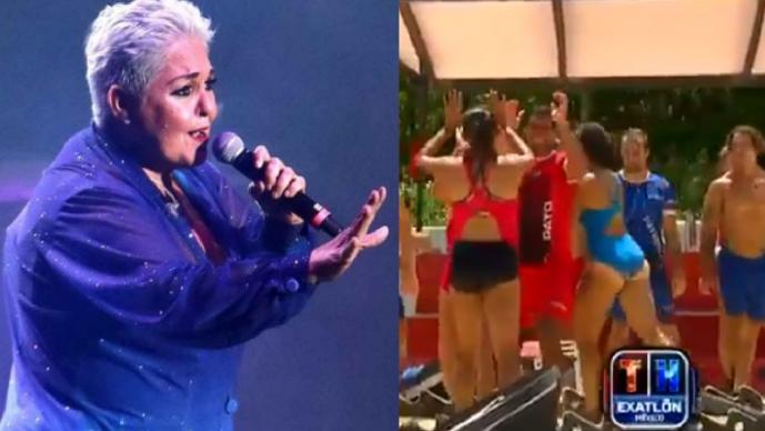 Lupita D'Alessio se le va con todo a participante de Exatlón México, lo acusa de machista