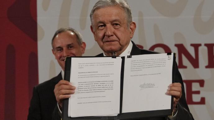 Todo lo que dice la solicitud de AMLO al Senado para consulta sobre juicio a expresidentes