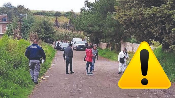 Asesinan de dos balazos en la cabeza a un joven, frente a un zoológico del Edomex