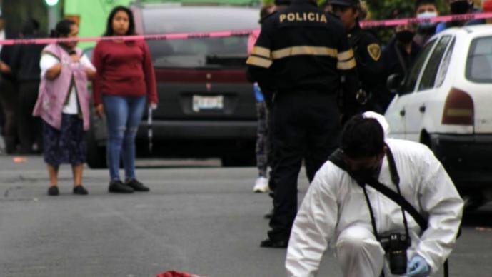 'El Gabo' plomea a dos hermanos en calles de la CDMX, uno muere de un balazo en la nuca