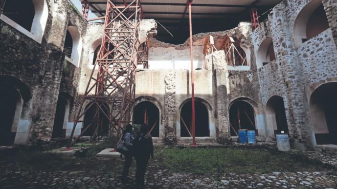 A tres años del sismo del 19-S, reconstrucción de conventos llevan el 70% en Morelos