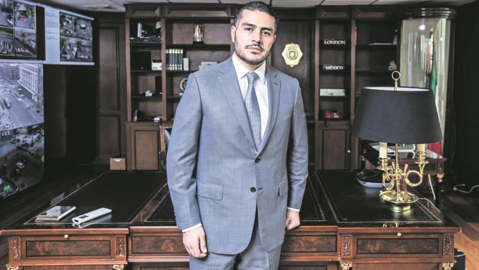 Omar García Harfuch, jefe de la Policía capitalina garantiza la seguridad de Claudia Sheinbaum
