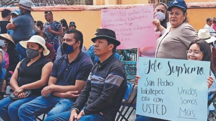 Tras atentado al Jefe Supremo Otomí en el Edomex, pueblos originarios repudian agresiones