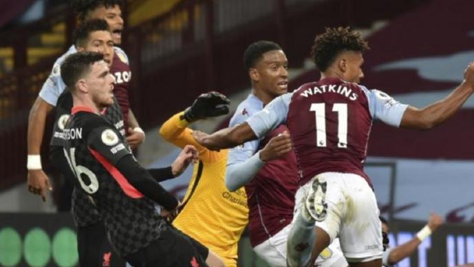 Histórica goleada del Aston Villa al Liverpool campeón de Klopp
