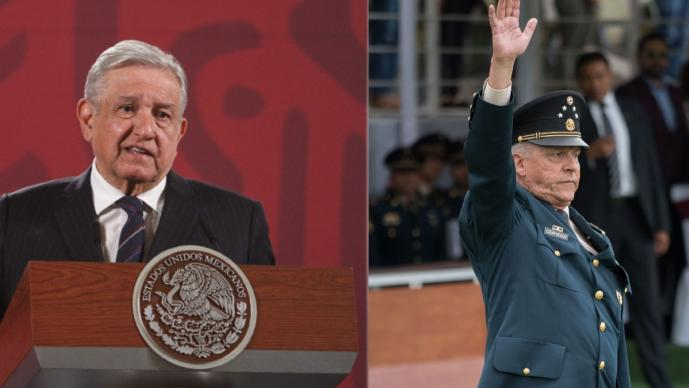 """Detención de Cienfuegos """"es lamentable"""", dice AMLO; señala vínculos con el narcotráfico"""