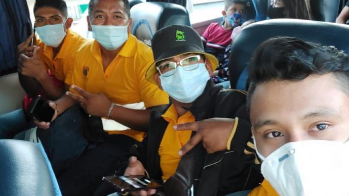 Basureros luchadores vienen de Chilpancingo para presentarse en la Triple A